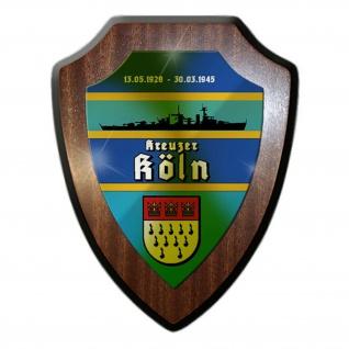 Wappenschild Kreuzer Köln Leichter Kreuzer Wilhelmshaven Marine Königsberg#24242