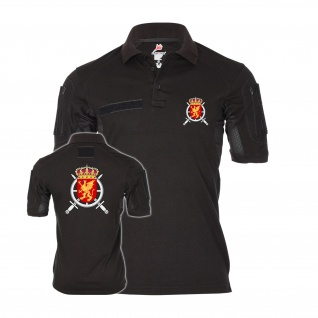 Tactical Polo 1st Logistics Regiment Schweden Logistikregiment T-Shirt#35507