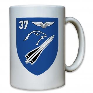 FlaRakBtl 37 Flugabwehr Schwingen Hawk Militär Wappen Abzeichen - Tasse #8483