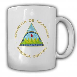 Republik Nicaragua Wappen Emblem kaffee Becher Tasse #13826