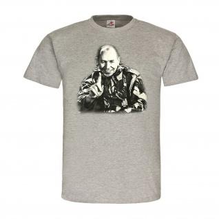 Kongo Müller Söldner Der lachende Mann Afrika 60er Jahre Major T-Shirt #23256