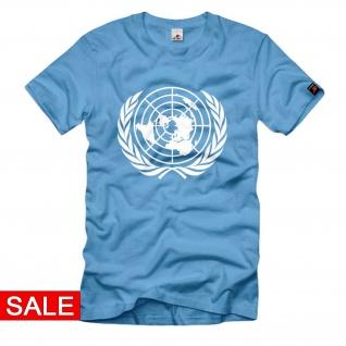 Gr. 3XL - UN United Nation Abzeichen Organisation der Vereinigten Nationen #R427