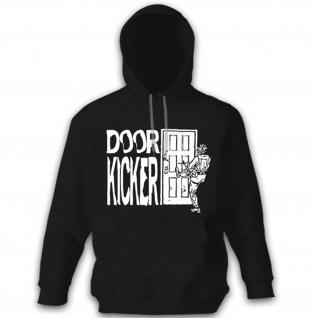 Door Kicker Tür Haustür Häuserkampf Army Militär Spezialeinheit - Hoodie #13025