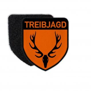 Patch Treibjagd Jäger Jagd Drückjagd Verband Abzeichen Emblem #36561