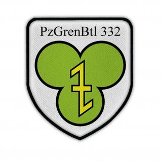 PzGrenBtl 332 Panzergrenadier Bataillon Wappen Abzeichen Wesendorf #17465