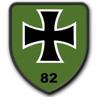Patch PzGrenBtl 82 Panzergrenadierbataillon Bundeswehr Wappen Abzeichen #4150