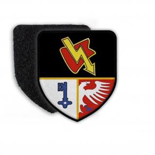 Patch FmBtl 910 Fernmelde-Bataillon Rheinbach Wappen Bundeswehr #21347