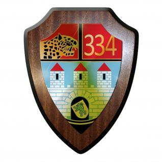 Wappenschild -PzBtl 334 Panzerbataillon Panzer Bataillon Leopard Heer #9332