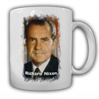 Tasse Präsident Richard Nixon 37 Präsident Amerika America USA Becher #14136