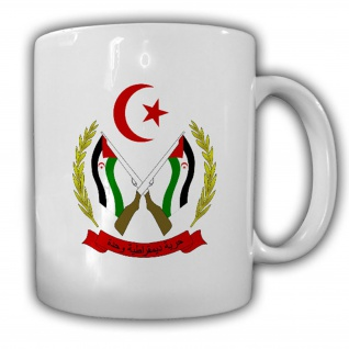 Tasse Republik Sahara Wappen Emblem Kaffee Becher #14031