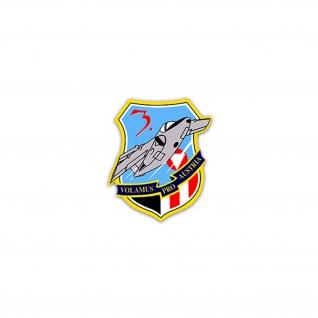 Aufkleber/Sticker Überwachungsgeschwader 1 3 Staffelpreis Austria 6x7cm #A2337