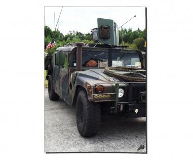 Poster Humvee Front HMMWV US ISAF High Mobility Multipurpose ab 30x21cm #30958