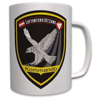 Kommando Luftunterstützung Österreich Wappen Abzeichen Emblem - Tasse #6322