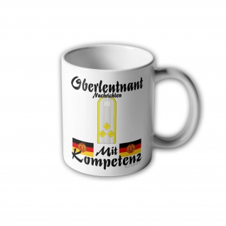 DDR Oberleutnant mit Kompetenz German Nachrichtendienst Schulterklappe #31003