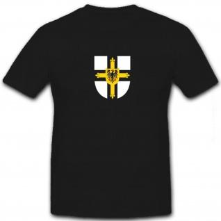 deutscher Orden Ritterorden Adler Kreuz Ritter Fahne Wappen - T Shirt #8575