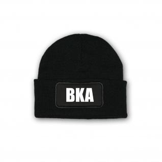 Mütze BKA Bundeskriminalamt Polizei Sondereinheit Bundespolizei Behörde#35955