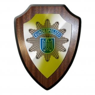 Wappenschild / Wandschild - Bundespolizei Gardestern Polizei Justiz #10169 w