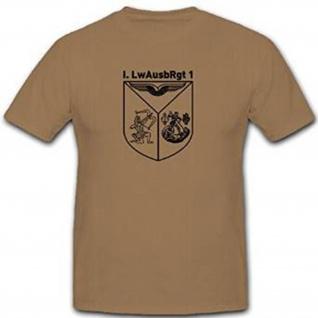 I LwAusbRgt 1 Tarnvariante Camu Luftwaffen Ausbildungs Regiment - T Shirt #12005