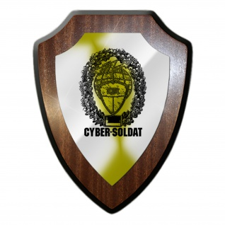 Wappenschild Cyber Soldat BW Militär Soldaten Kameraden Einheit Truppe #27036