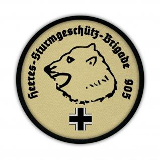 Patch Heeres Sturmgeschütz Brigade 905 Wappen Abzeichen Bär Eisbär Kopf #15296