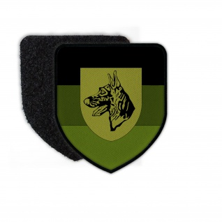 Patch Schule für Diensthundewesen der Bundeswehr Tarn SDstHundeBw Klett #24921