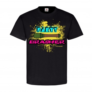 Party-Crasher Fun Tnt Infanterie Spaß Disco Heer Waffe - T Shirt #23573