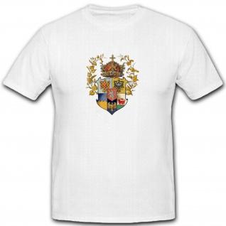 Königreich Böhmen Tschechien Heimat Wappen Abzeichen Emblem- T Shirt #5405