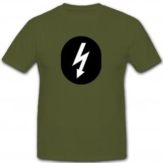 Nachrichten Dienst Abzeichen DDR Fallschirmjäger Militär Wappen - T Shirt #7911