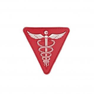 Patch Medical 3D Rubber Sanitäter Erste Hilfe Helfer Medic Tactical 7cm #23285