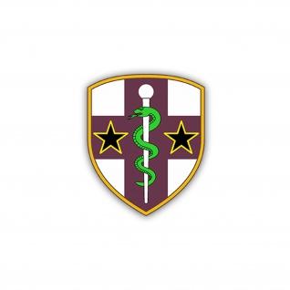 Aufkleber/Sticker Army Reserve Medical Command AR Medcom USA 6x7cm A2131