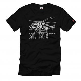 Mil Mi-8 Mi17 ???? ??-8 Transport-Hubschrauber Russland NVA DDR T-Shirt#32516