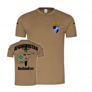 BW Tropen Afghanistan Einsatz DeuEinsKtgt Bundeswehr ISAF T-Shirt#34800