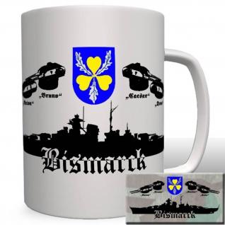 Schlachtschiff Bismarck Panzerschiff Deutschland Klasse Wk Militär Tasse #16383