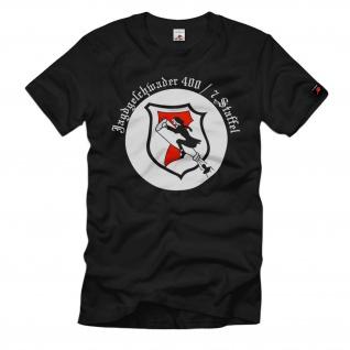 Jagdgeschwader 400 7. Staffel Luftwaffe Fliegertruppe Flieger - T Shirt #1615