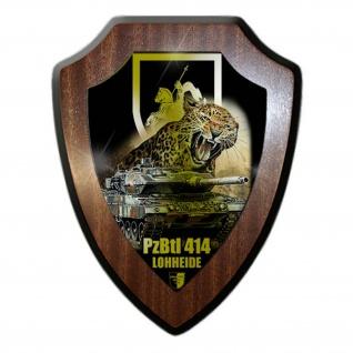 Wappenschild Lukas Wirp PzBtl 414 Lohheide Panzer Btl Leopard 2A6 #24459