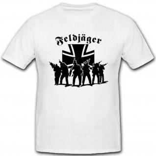 Feldjäger Elite Militär Bundeswehr Einheit Einsatz Polizei Kreuz T Shirt #12489