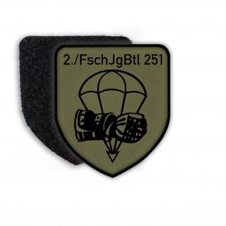 Patch 2 FschJgBtl 251 Calw Fallschirmjägerbataillon Kompanie #23065