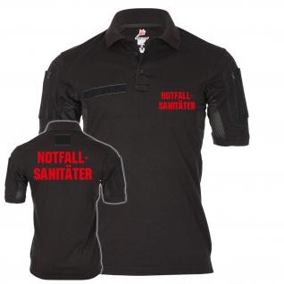 Tactical Poloshirt Alfa Notfallsanitäter Sanitäter Sani Lebensretter #21845