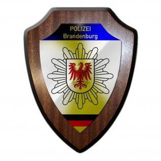 Wappenschild Polizei Brandenburg Wappen Abzeichen Potsdam Deko #23072
