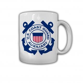 Coast Guard Auxiliary US Küstenwache Abzeichen USA - Tasse #26828