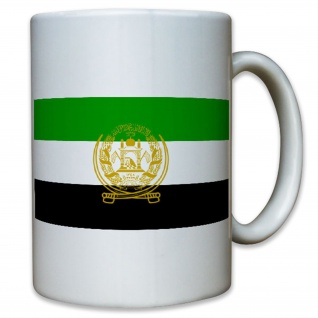 Afghanistan Flagge Fahne Flag 1992-1996 Wappen Abzeichen - Tasse #12916