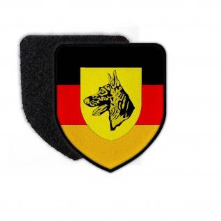 Patch Schule für Diensthundewesen der Bundeswehr SDstHundeBw Klett #24920