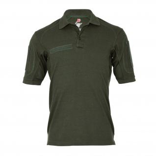 Tactical Poloshirt ALFA oliv Einsatz Shirt Arbeitskleidung Hemd Sport #18791