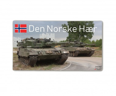Poster M&N Pictures Den Norske Hær Leopard 2A4 Panzer Norwegen ab30x17cm# 30273