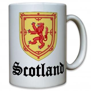 Scotland Schottland Schotten Königreich Löwen Emblem Wappen - Tasse #10247 t