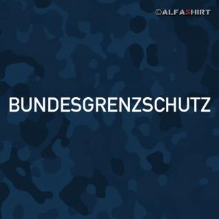 Aufkleber/Sticker Bundesgrenzschutz BGS GSG9 Bundespolizei 20x1, 5cm #A443