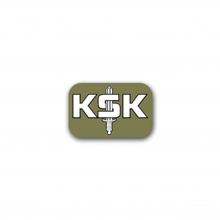 Aufkleber/Sticker KSK Kommando Spezialkräfte Militär Rettung Heer 10x7cm A1784