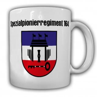 Spezialpionierregiment 164 SpezPiRgt Husum Bundeswehr Julius Leber Tasse #20111