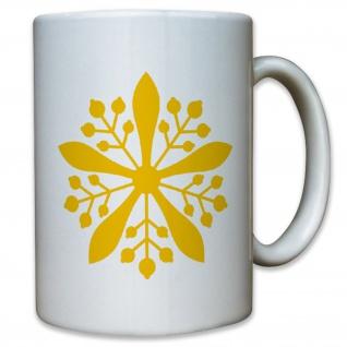 Emblem Of The Emperor Of Manchukuo Abzeichen Wappen - Tasse #13068
