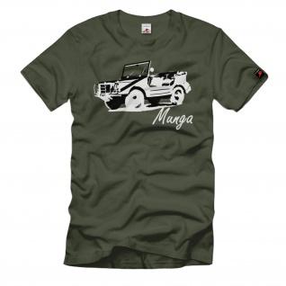 Munga Bundeswehr Oldtimer Auto Mehrzweck Universal Geländewagen - T Shirt #62